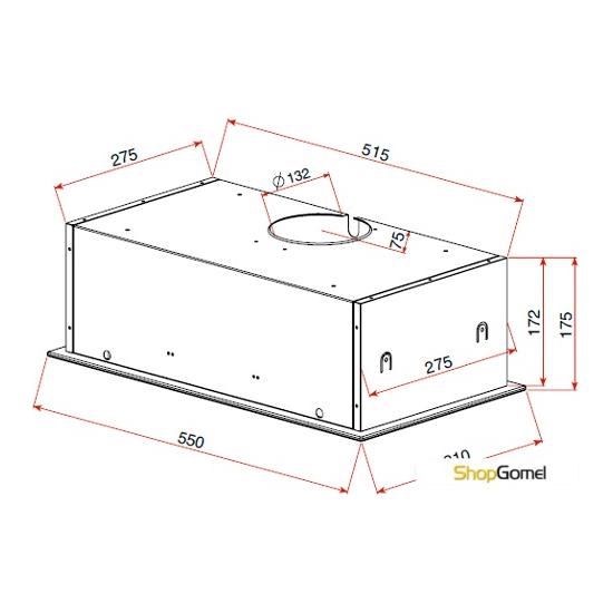 Кухонная вытяжка TEKA GFG2 (нержавеющая сталь) [40446753]